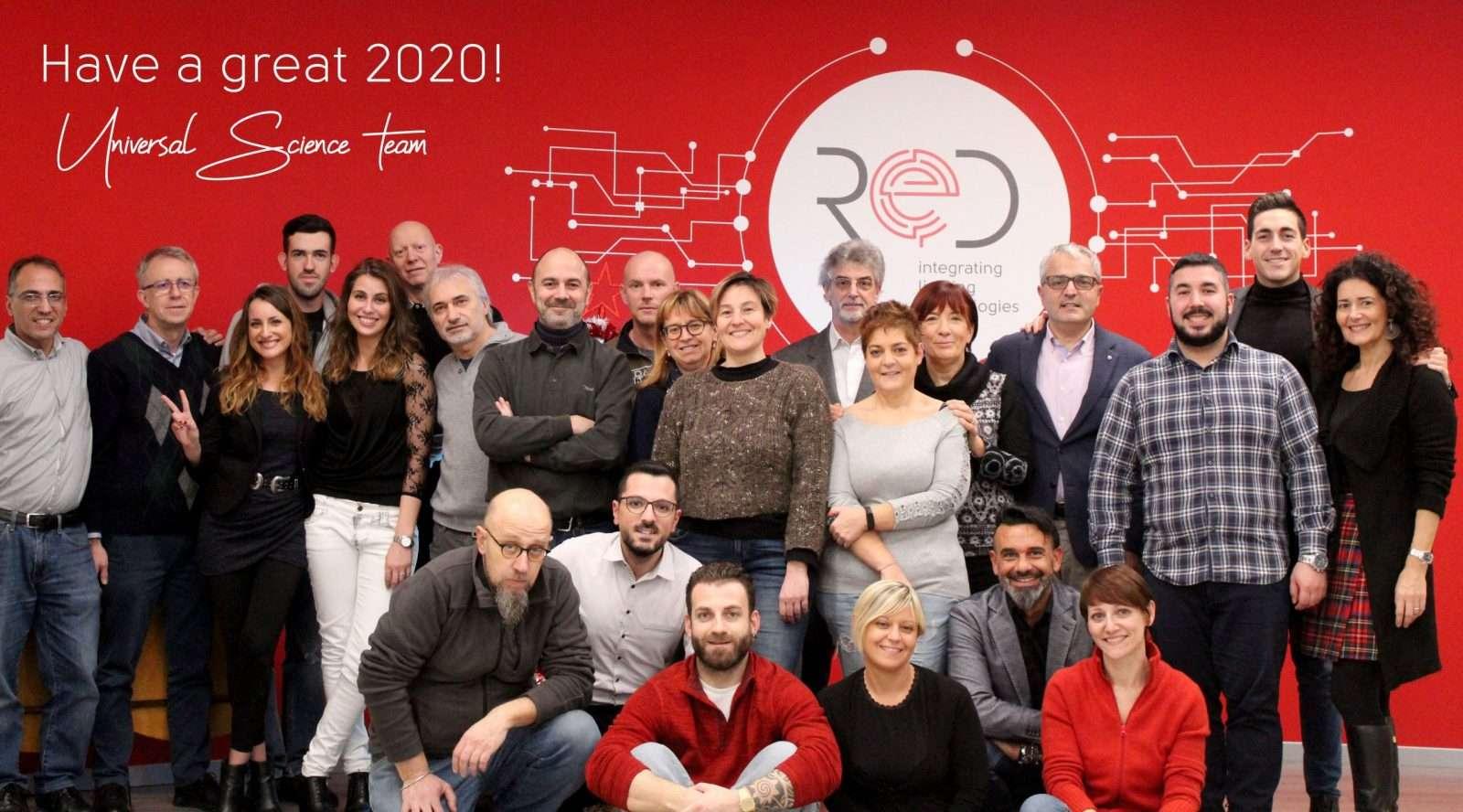 NEWS – Buon 2020 da Universal Science!