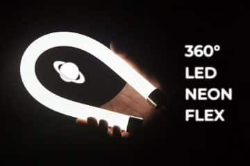 Tubo neon LED flessibile