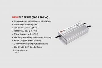 TLD series 600W 800W