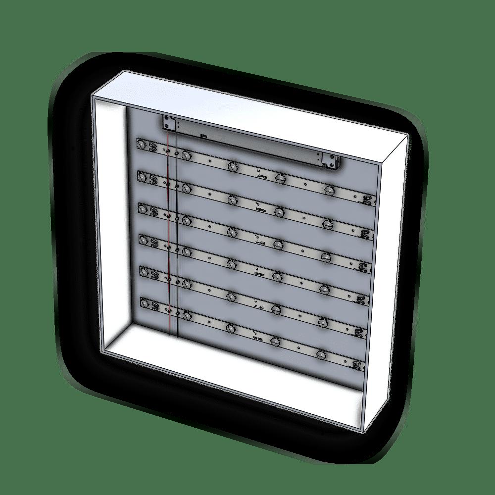 Modello AVX connessione centrale