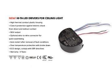 ceiling light led driver