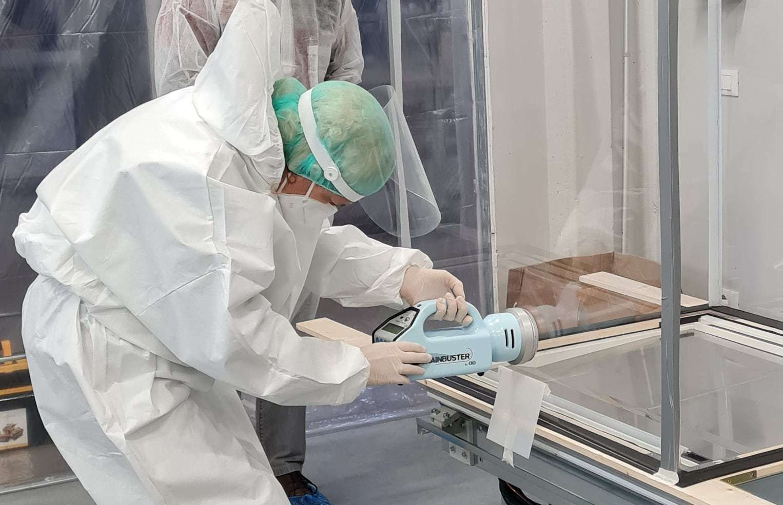 test laboratorio led uvc germicida banchi frigo